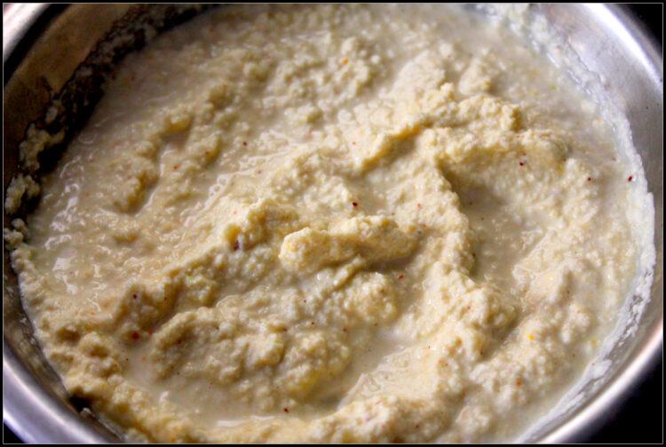 coconut chutney blende