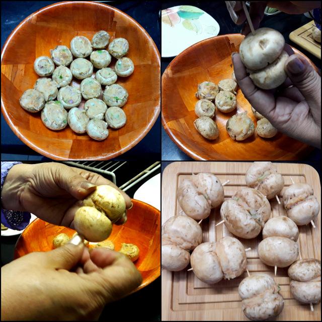 Mushrooms Stuffed