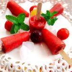 Tasty Plum Popsicles Recipe|Alu Bukhara