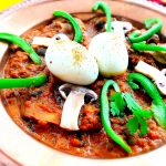 Egg-Mushroom Masala Curry Recipe