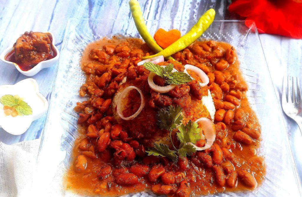 Punjabi Rajma in Kolhapuri Gravy Recipe