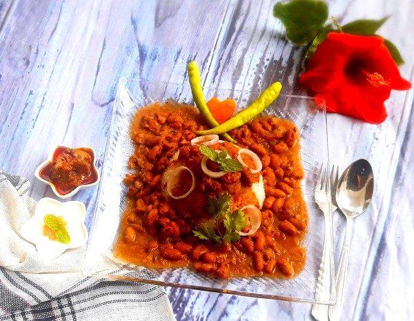 Finally, serve this exotic Rajma in Kolhapuri masala with rice or tandoori roti