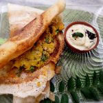 Sweet Potato Stuffed Dosa