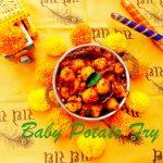 Baby Potato Fry with Curry Leaves| Vrat Ka Khana