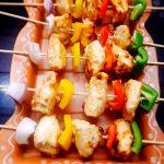 Keto Chicken Malai Kebabs