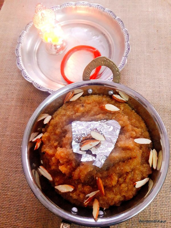 Rest assured your Kanjaks are going to relish your Sooji ka Halwa.