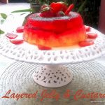 Layered Jelly & Custard