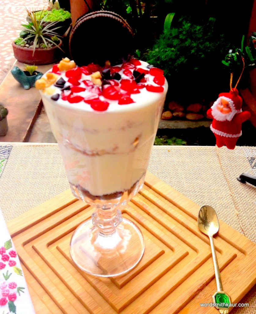 Pomegranate & Walnut Parfait