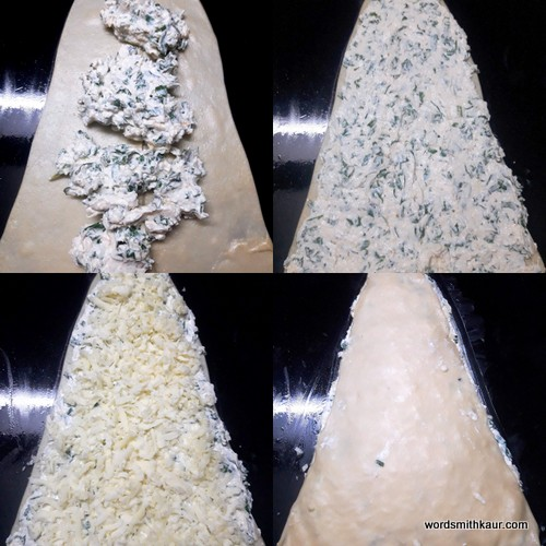 Cream Cheese Christmas tree filling for the tree