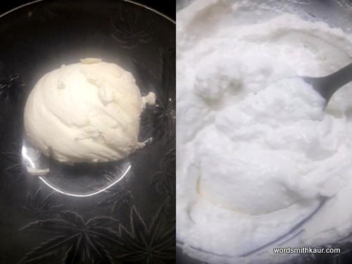 Cream Cheese Christmas tree greek yoghurt instead of cream cheese