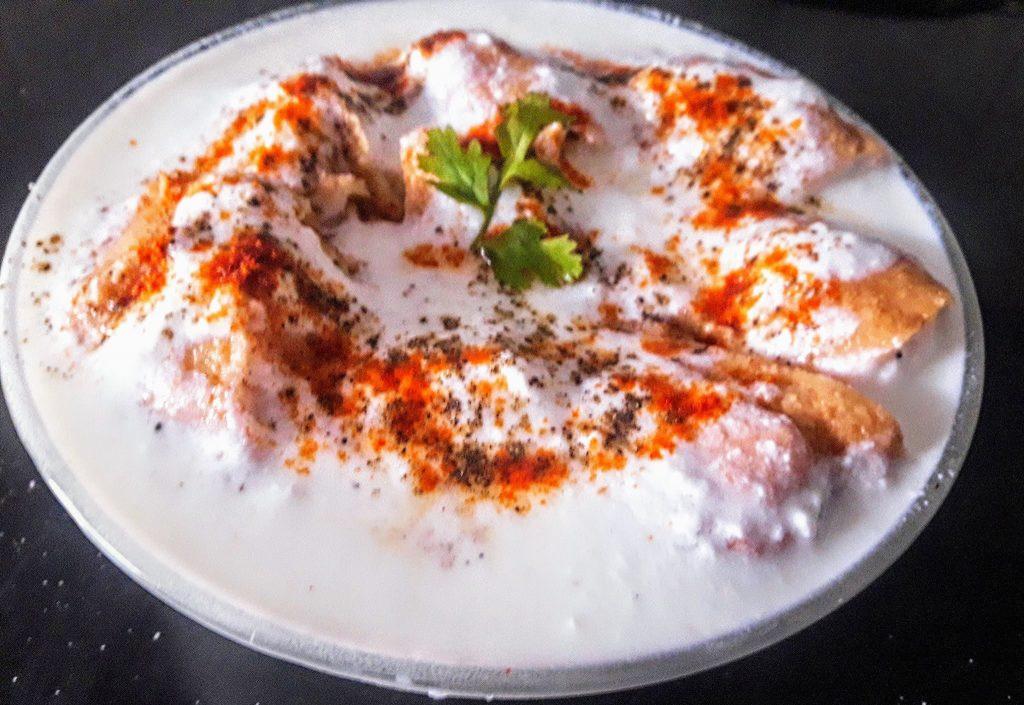 Dahi Vada ready to eat