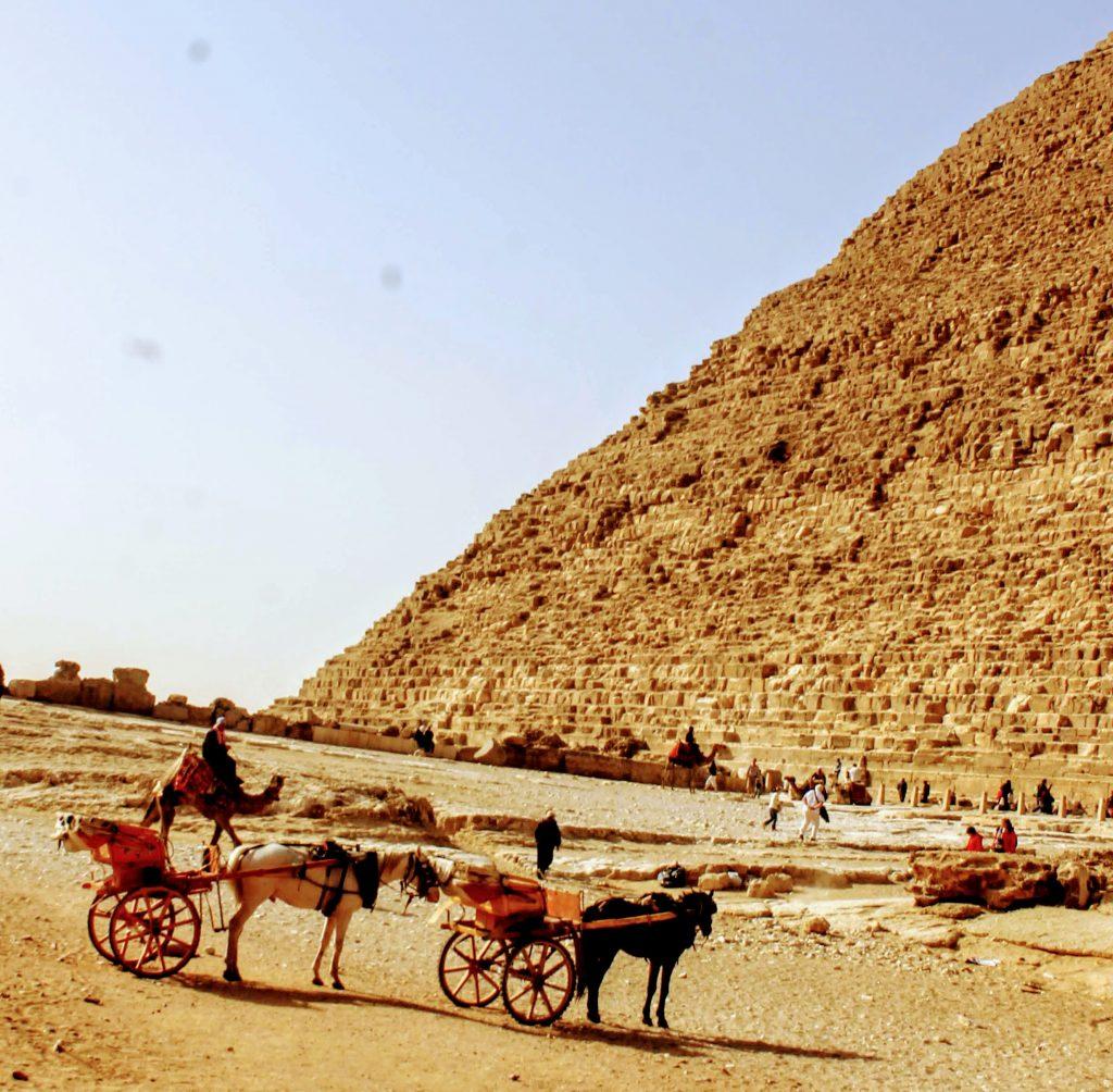 Smaller queens pyramids