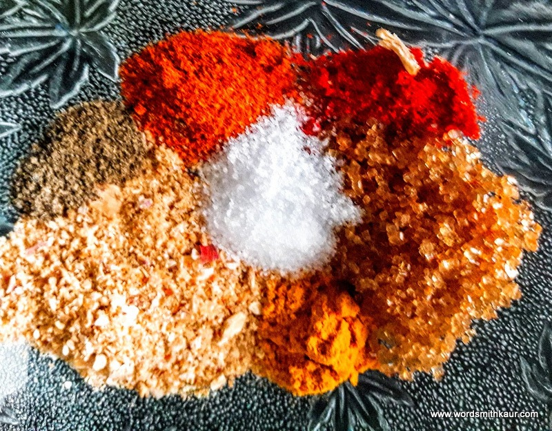 All spices