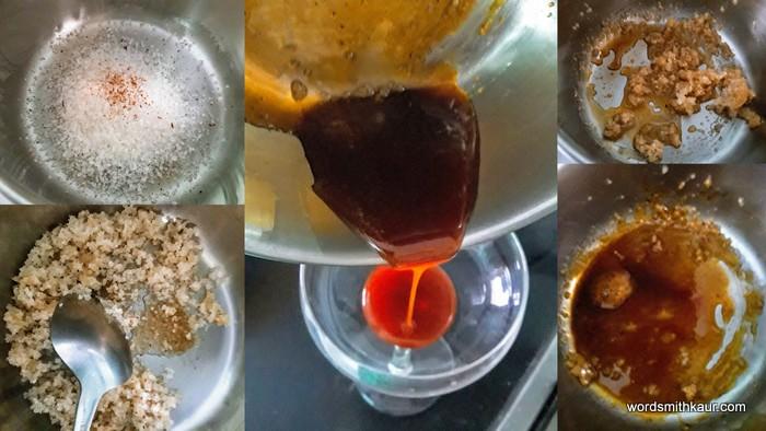 Caramel ...how to make