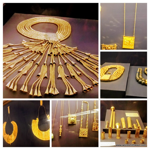 Gold ornaments of the Pharaohs