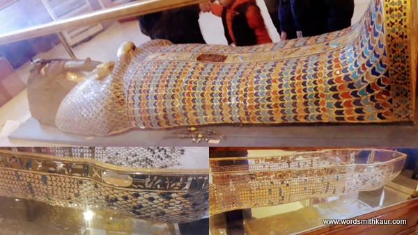 Bejewelled Sarcophagus Cairo Museum