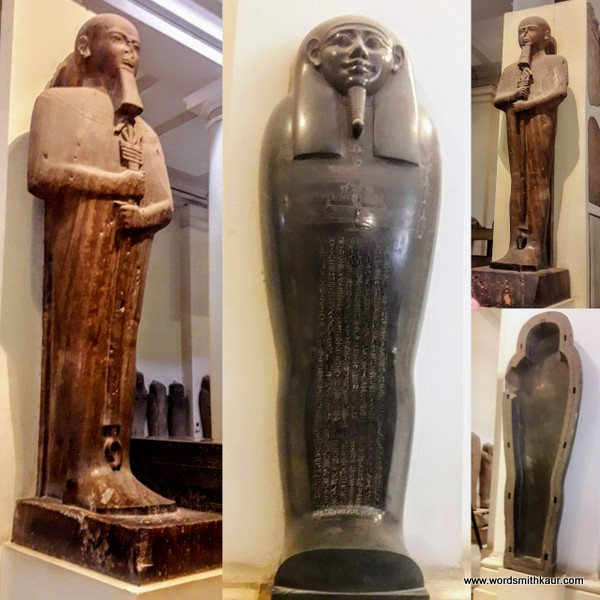 Stone statue Cairo Museum