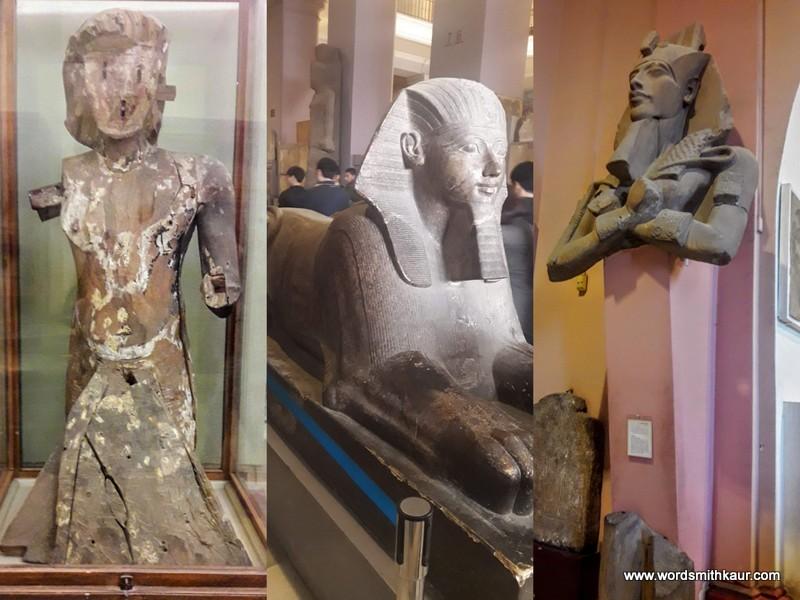 Stone Sphinx Cairo Museum