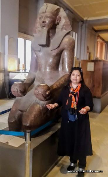 Tutankhamun Statue Cairo Museum