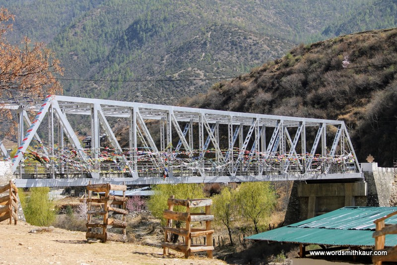 Destiny Bridge Thimphu Bhutan|Gross National Happiness #BlogchatterA2Z
