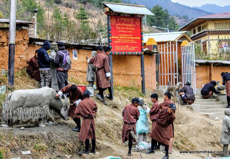 National School of Art Bhutan|Gross National Happiness #BlogchatterA2Z
