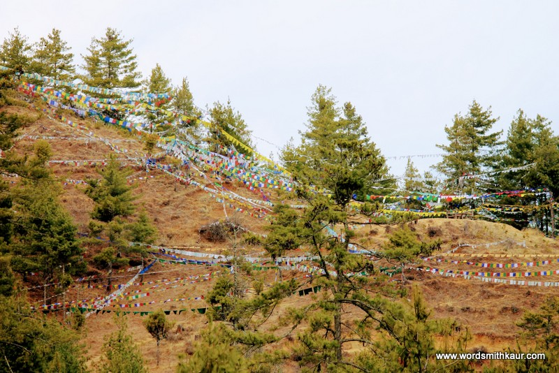 Prayer Flags Bhutan|Gross National Happiness #BlogchatterA2Z