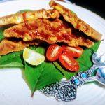Savoury Corn Waffles #BlogchatterA2Z