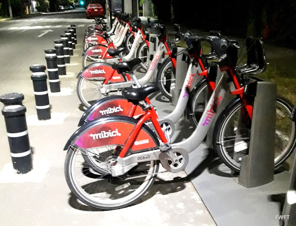 Cycles in Guadalajara-Mexican City of the future!