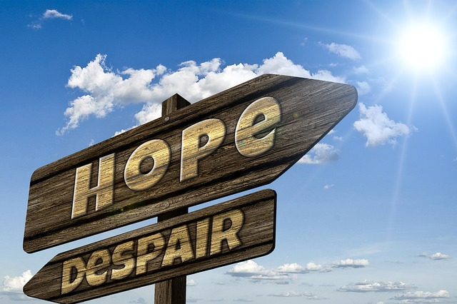 Healthy Ways to Cope with Depression;  Choose between Hope and Despair