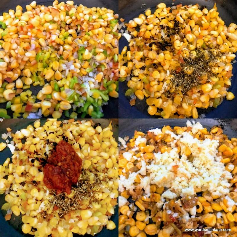 How to make Cheese Pani Puri