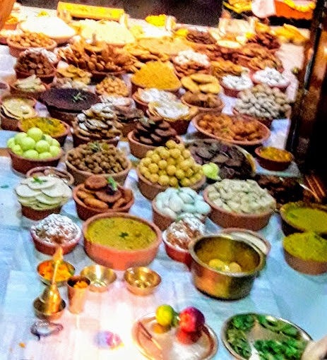 The Times Temple Food Trail Chappan Bhog