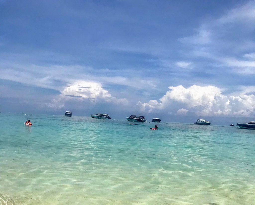 Koh Rok Ranger station beach