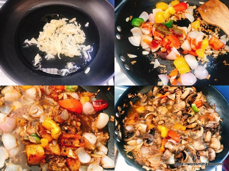 Garlic Mushrooms Recipe