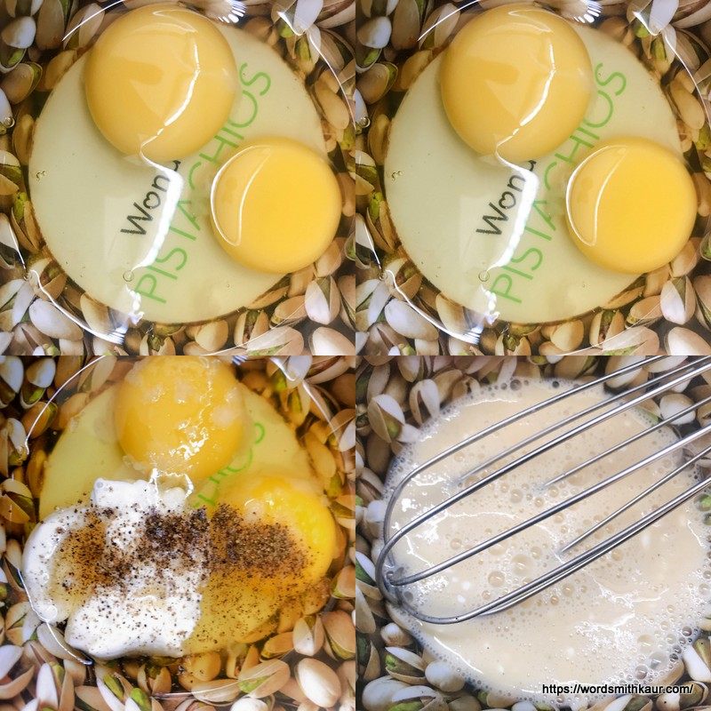 Eggs and cream