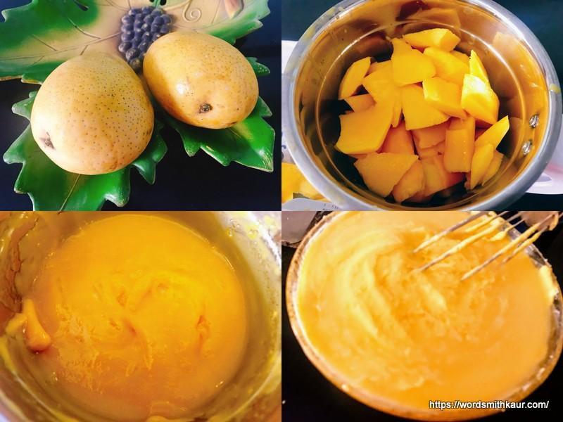 Mango Cheesecake Layer