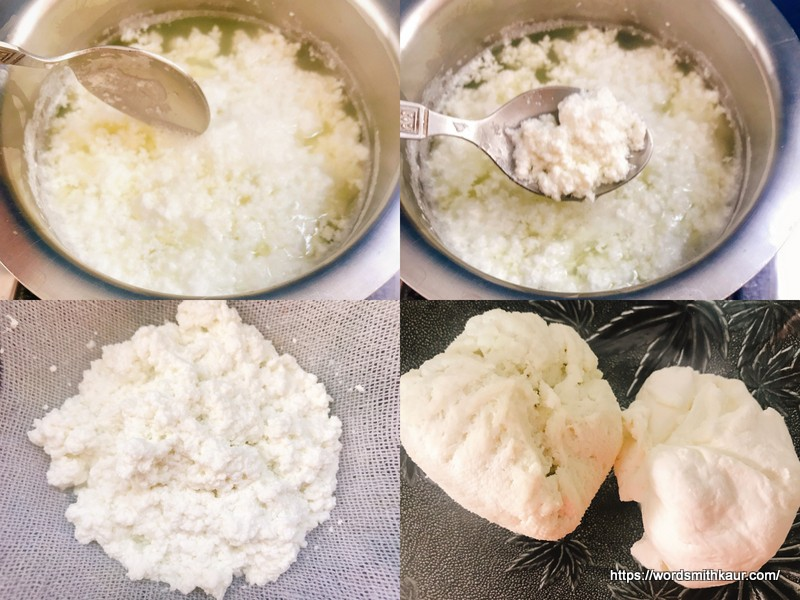 Home made cream cheese-Paneer and Greek yoghurt