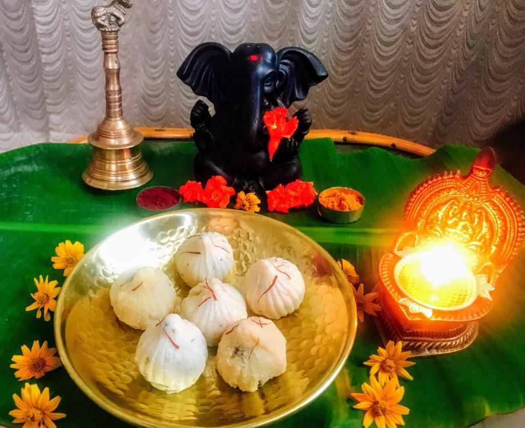Ganesh Modak Moulds