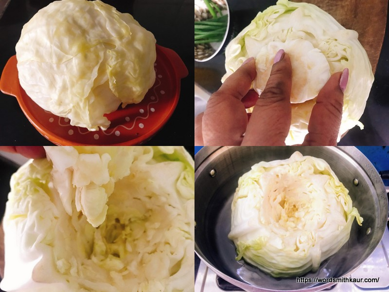 Cabbage Steamed