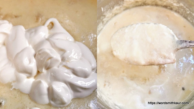 Creamy  Pudding is ready
