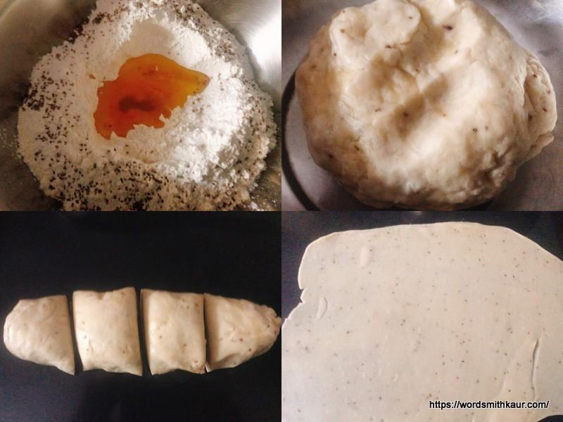 Namak paare Dough