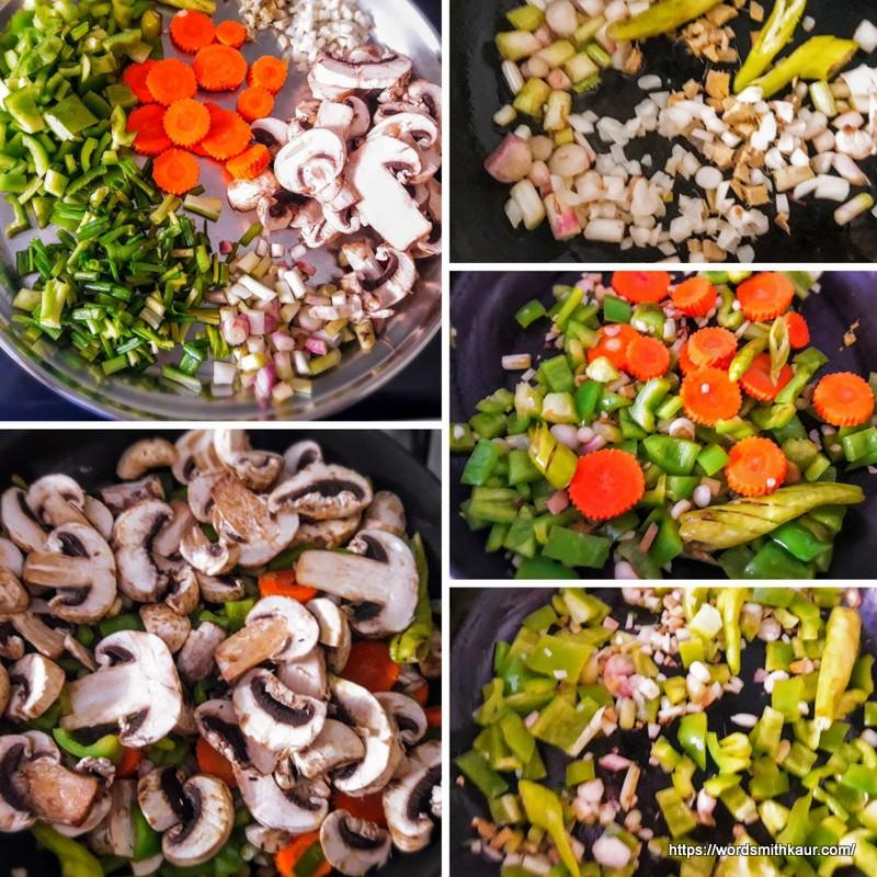 Quick Chilli Mushroom Gravy
