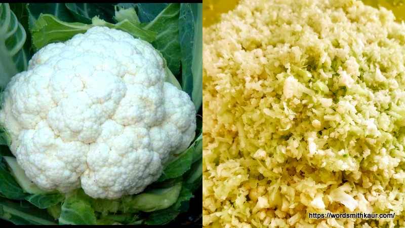 Minced Cauliflower