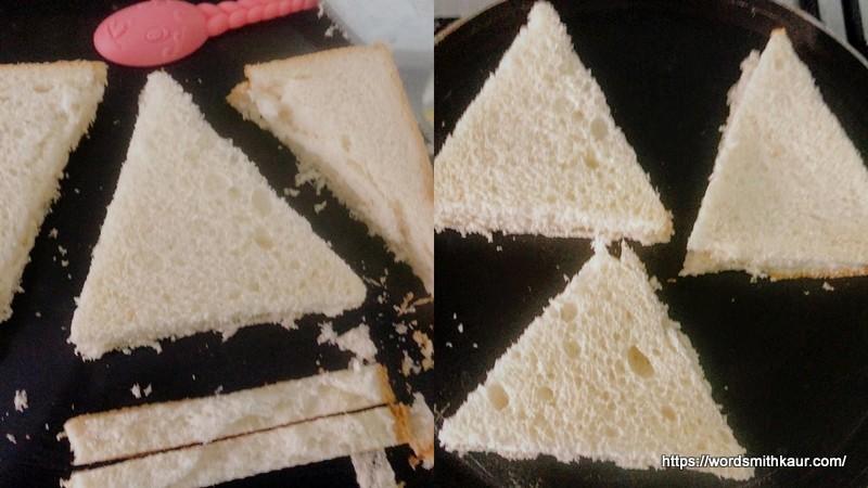 Bread Triangles