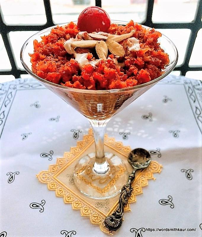 Gajar ka Halwa in Slow Cooker   Carrot Pudding