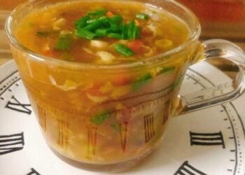 Easy Hot & Sour soup