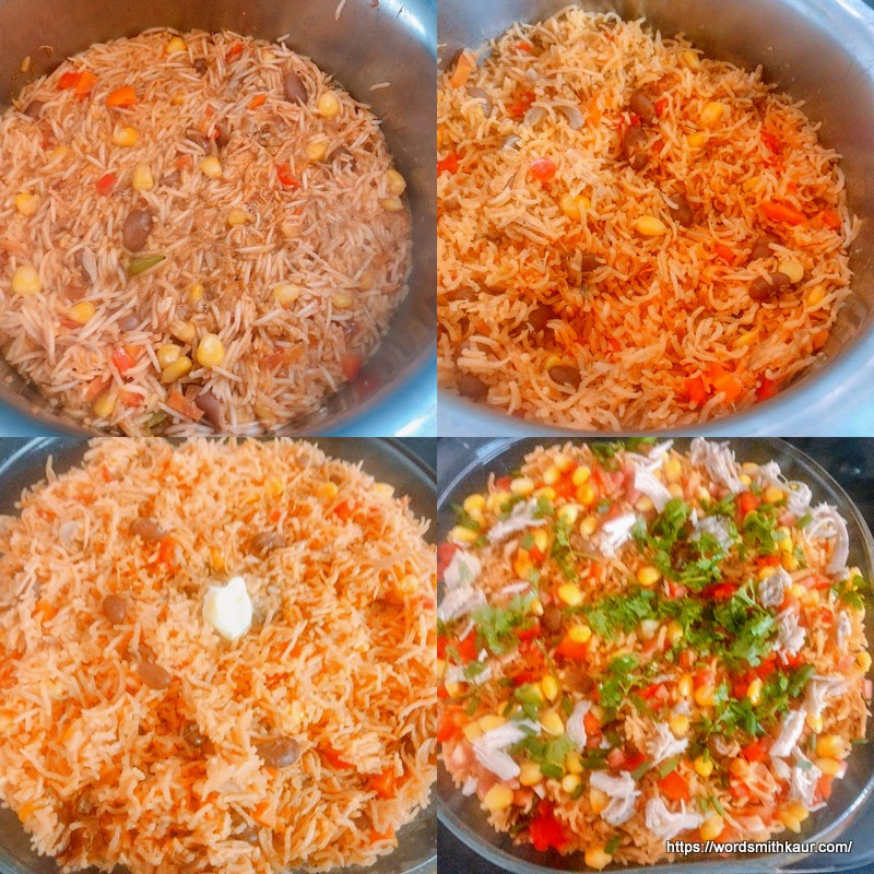 Baked Mexican rice