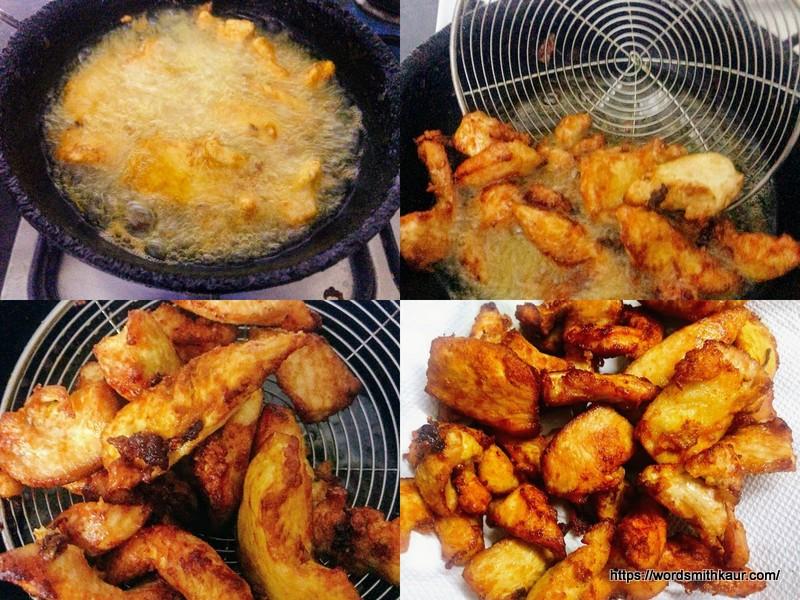 frying chicken majestic