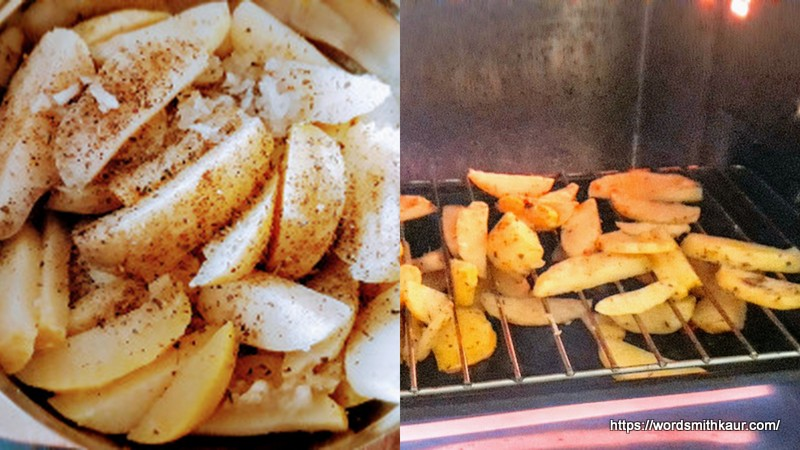Grilling wedges