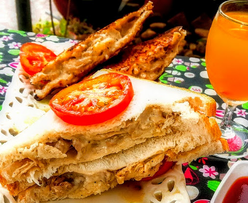 lush & creamy chicken sandwiches