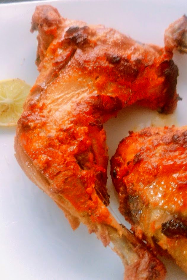 Robust Tandoori Chicken with Instant Naan